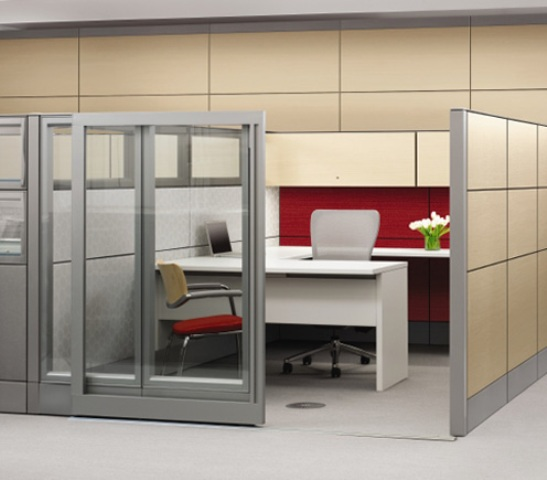 Cubicles-On-Famed-Aluminium-Double-Glass-Modular-Office-Cubicles-cubicles-with-doors-